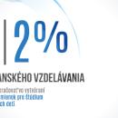 Venujte svoje 2% Nadácii kresťanského vzdelávania